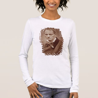 Charles Baudelaire (1821-67), French poet, portrai Long Sleeve T-Shirt