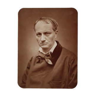 Charles Baudelaire (1821-67), French poet, portrai Magnet