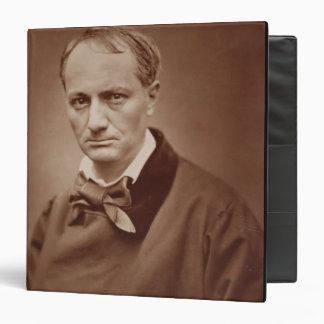Charles Baudelaire (1821-67), poeta francés, portr