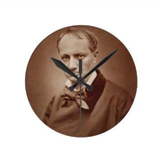 Charles Baudelaire (1821-67), poeta francés, portr Relojes