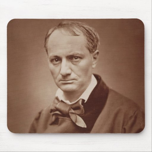 Charles Baudelaire (1821-67), poeta francés, portr Alfombrilla De Ratones
