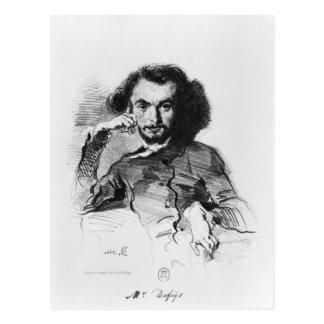 Charles Baudelaire  1844 Postcard