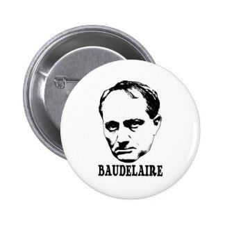 Charles Baudelaire 2 Inch Round Button
