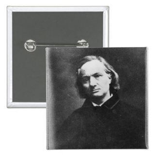 Charles Baudelaire Button