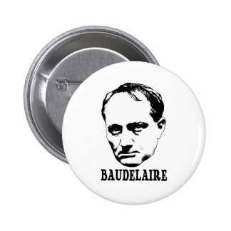 Charles Baudelaire Buttons