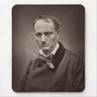 Charles Baudelaire by Étienne Carjat Mouse Pad