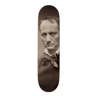 Charles Baudelaire by Étienne Carjat Skateboard