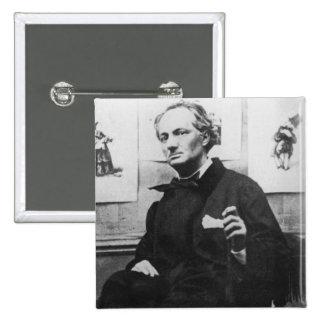 Charles Baudelaire con los grabados c 1863 Pin