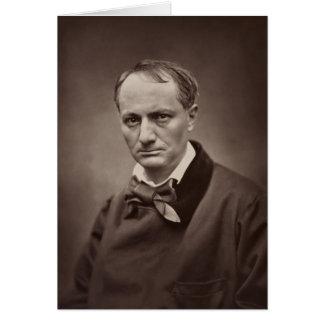 Charles Baudelaire de Étienne Carjat Tarjeta De Felicitación