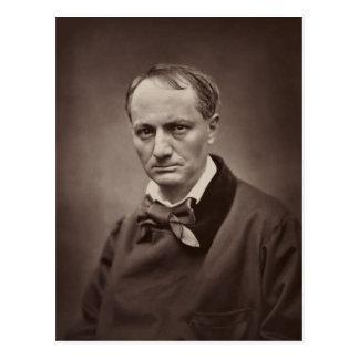 Charles Baudelaire de Étienne Carjat Tarjetas Postales
