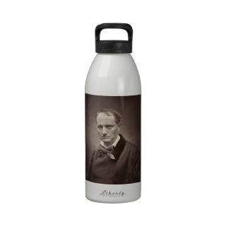 Charles Baudelaire de Étienne Carjat Botella De Beber