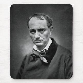 Charles Baudelaire - foto 1878 del vintage Alfombrillas De Ratón