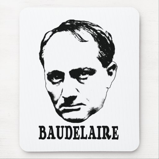 Charles Baudelaire Mouse Pads