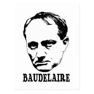 Charles Baudelaire Postcard