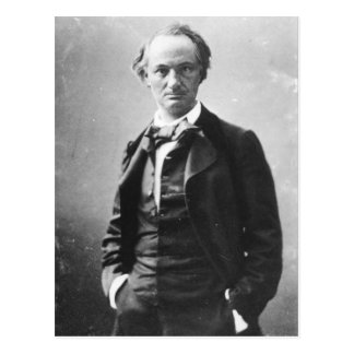 Charles Baudelaire Postcard
