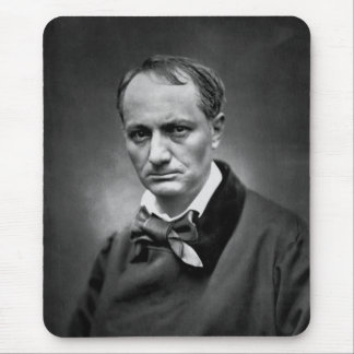 Charles Baudelaire - Vintage Photo 1878 Mouse Pad