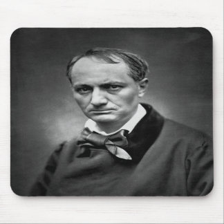 Charles Baudelaire - Vintage Photo 1878 Mousepads