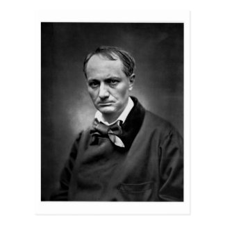 Charles Baudelaire - Vintage Photo 1878 Post Cards
