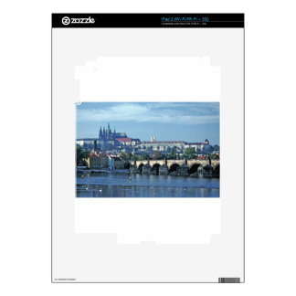 Charles Brdge Prague Castle Tom Wurl.jpg Decal For iPad 2