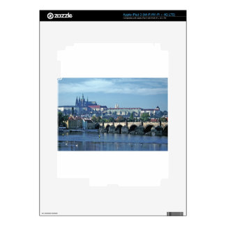 Charles Brdge Prague Castle Tom Wurl.jpg Decal For iPad 3