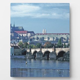 Charles Brdge Prague Castle Tom Wurl.jpg Plaque