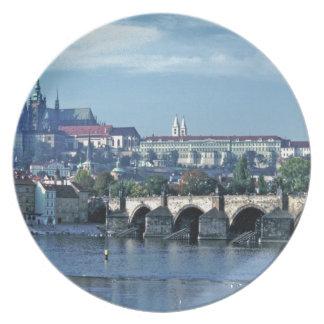 Charles Brdge Prague Castle Tom Wurl.jpg Plate