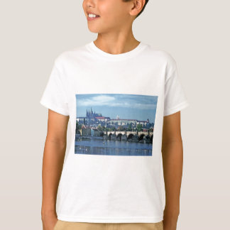 Charles Brdge Prague Castle Tom Wurl.jpg T-Shirt