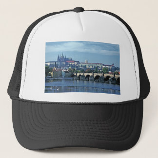 Charles Brdge Prague Castle Tom Wurl.jpg Trucker Hat