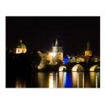 Charles Bridge and River Vltava Postcard