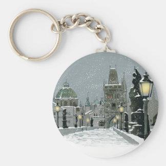 Charles Bridge key chain