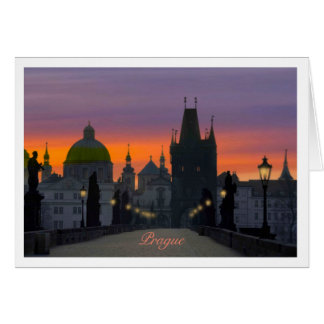 Charles Bridge Note Card