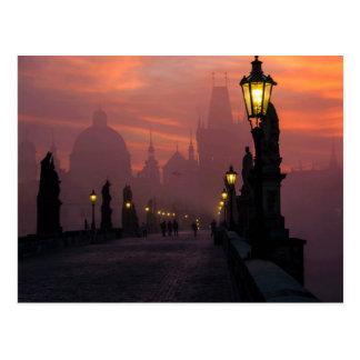 Charles Bridge Prague Postcard