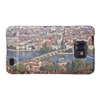 Charles Bridge Vltava River Prague Samsung Galaxy SII Covers