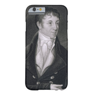 Charles Brockden Brown (1771-1810) engraved by Joh iPhone 6 Case