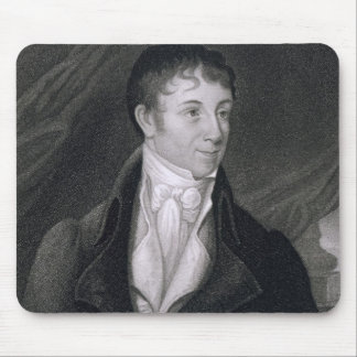 Charles Brockden Brown (1771-1810) engraved by Joh Mouse Pad