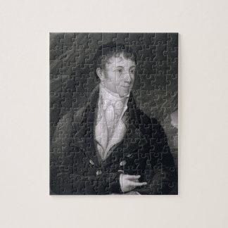 Charles Brockden Brown (1771-1810) grabado por Joh Puzzle