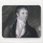 Charles Brockden Brown (1771-1810) grabado por Joh Tapete De Raton