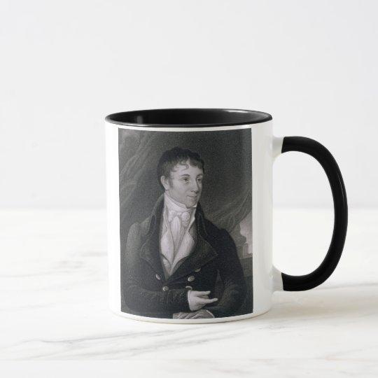 Charles Brockden Brown (1771-1810) grabado por Joh Taza