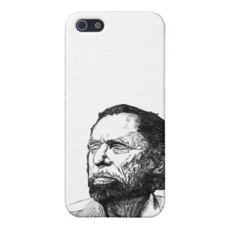 Charles Bukowski Portrait Cover For iPhone SE/5/5s