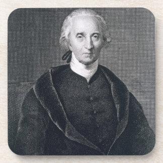 Charles Carroll de Carrollton, grabado por Asher B Posavasos De Bebidas