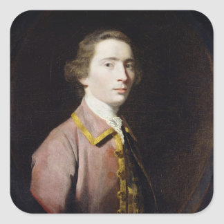 Charles Carroll of Carrollton, c.1763 (oil on canv Square Sticker