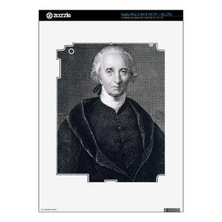 Charles Carroll of Carrollton, engraved by Asher B iPad 3 Skin