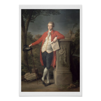 Charles Cecil Roberts, 1778 (aceite en lona) Póster