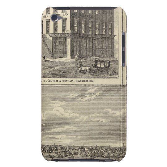 Charles City, and buildings iPod Touch Case