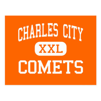 Charles City - Comets - Junior - Charles City Iowa Postcard