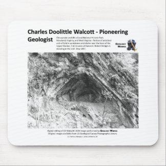 Charles D Walcott Ia - Pioneering Geologist Mouse Pad