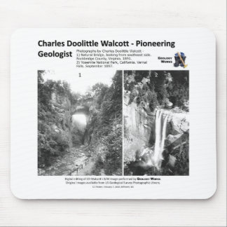 Charles D Walcott Ib - Pioneering Geologist Mouse Pad