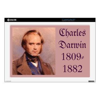 """Charles Darwin 17"""" Laptop Skin"""