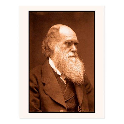 Charles Darwin around 1874 Postcards