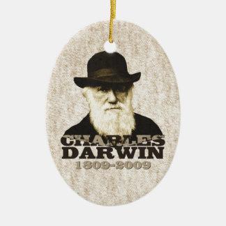 Charles Darwin Bicentennial Ceramic Ornament